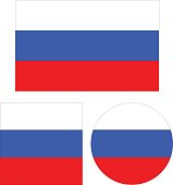 Russian flags