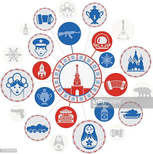 russian montage - red square stock illustrations, clip art, cartoons, & icons