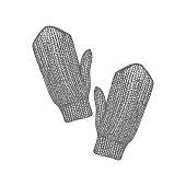 30.05 russian symbols mittens