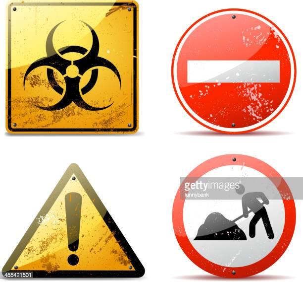 rusty sinais de aviso