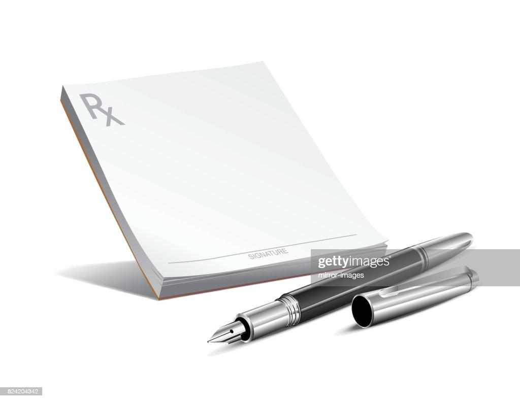 Rx pad and pan