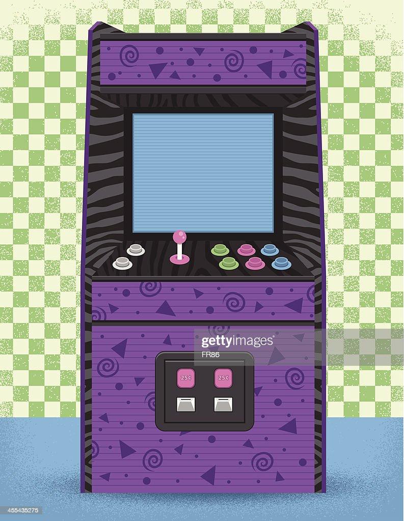 80's Arcade Machine : stock illustration