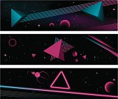 80's banners