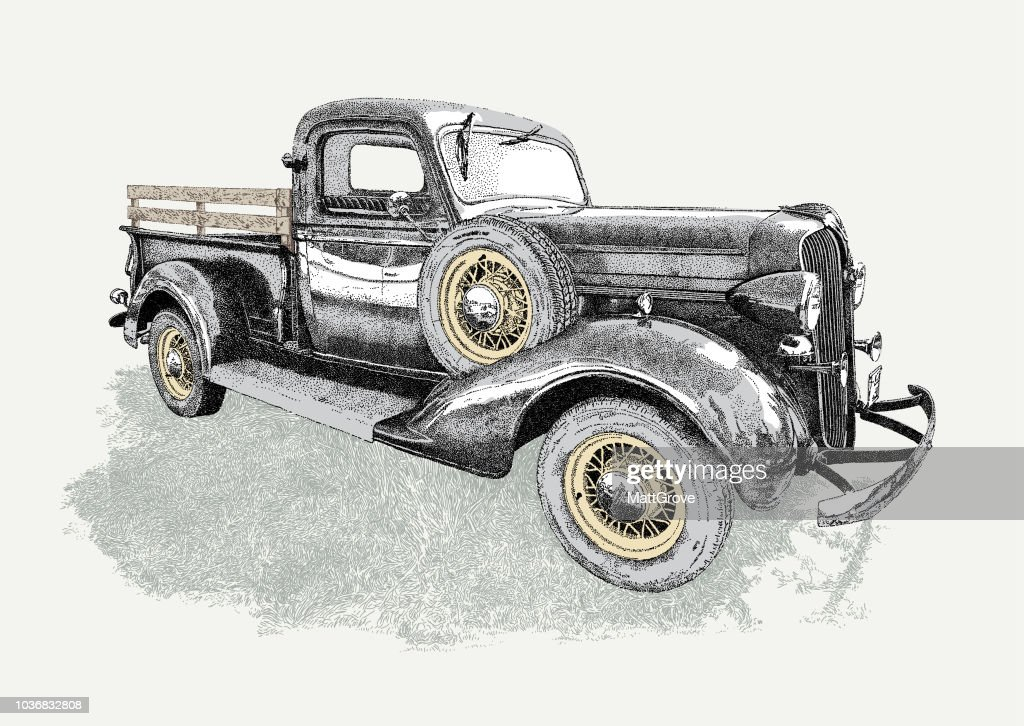 50's Pick-up Truck