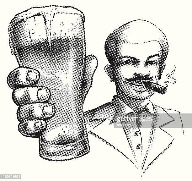 70's style drinking buddy