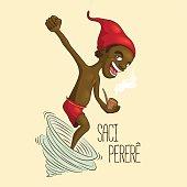 Saci Pererê, one-legged rowdy boy