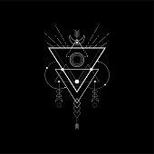 Sacred Triangle light