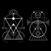 sacred triangle magic moon