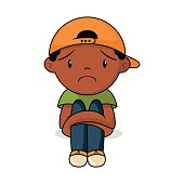 Image result for unhappy child clipart