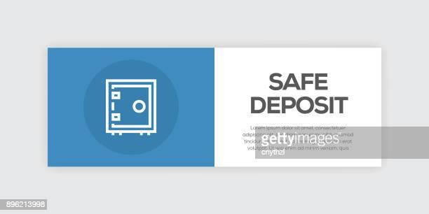 Safe Deposit Line Infographic Web Banner