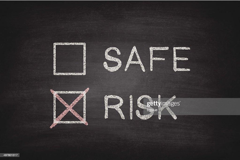 Safe or Risk Checkboxes on Blackboard - Chalkboard