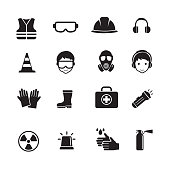 Safety and Health Icons