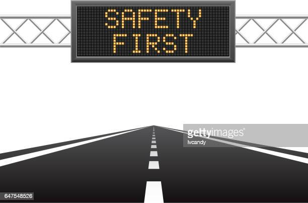 safety first on led screen - pastry lattice stock illustrations, clip art, cartoons, & icons