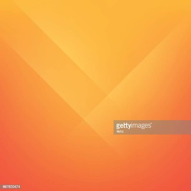 Safety Orange Minimal Fold Line Background
