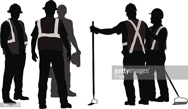 Safety Vector Silhouette