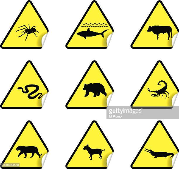 Safety Warning Sticker Set 4