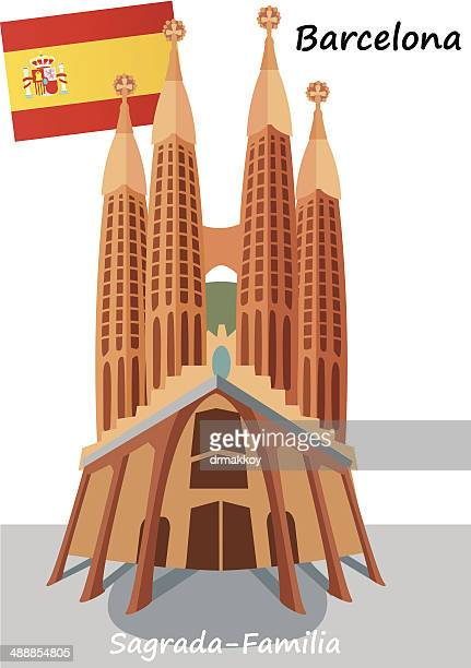 60点のsagrada Familiaのイラスト素材クリップアート素材マンガ素材