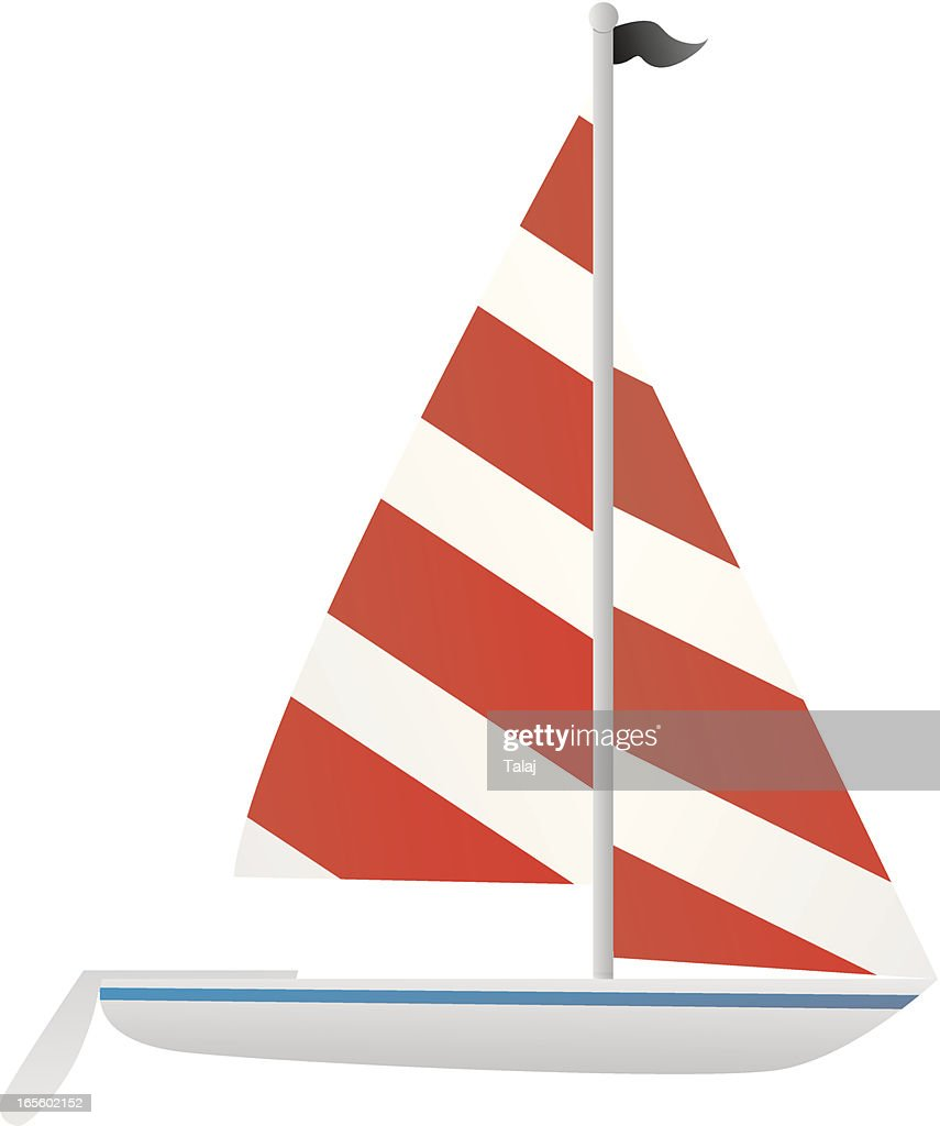 sailboat : stock illustration
