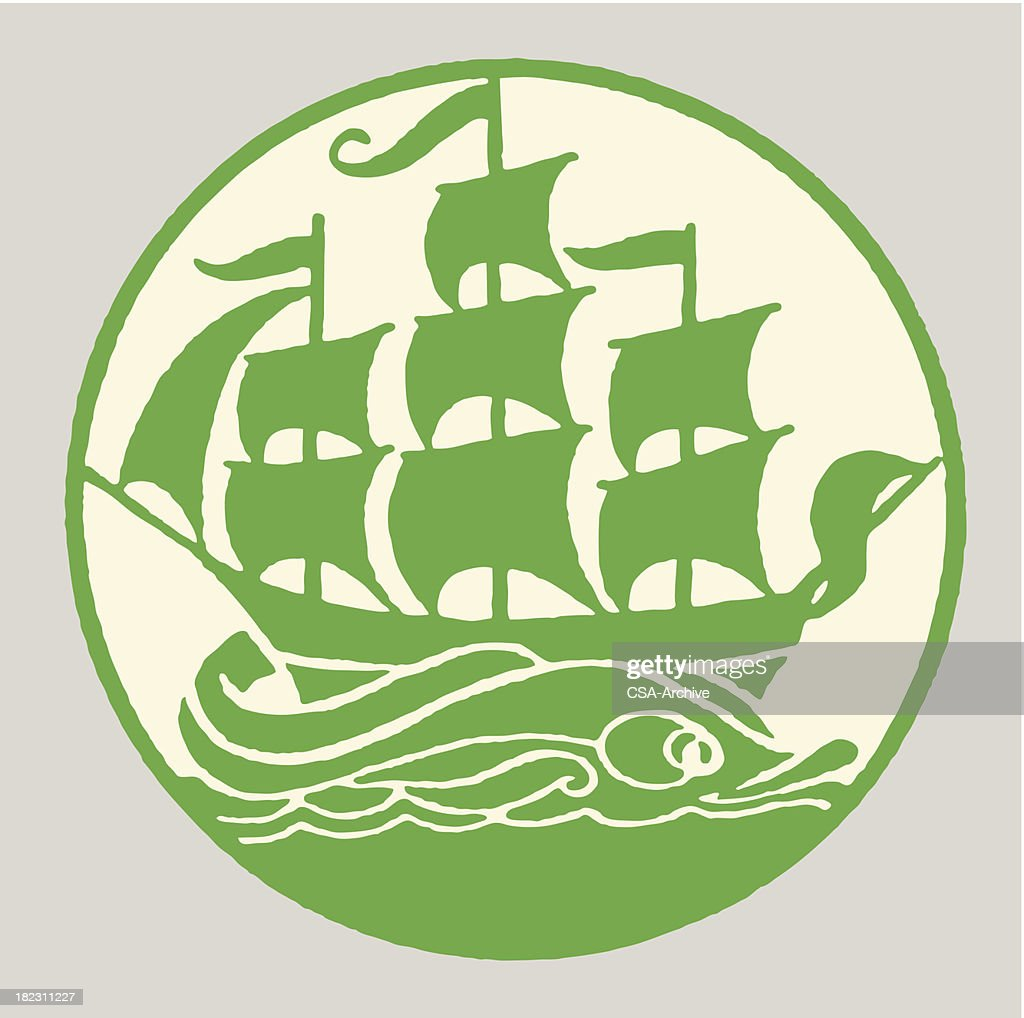 Sailboat : stock illustration