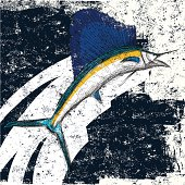 Sailfish abstract