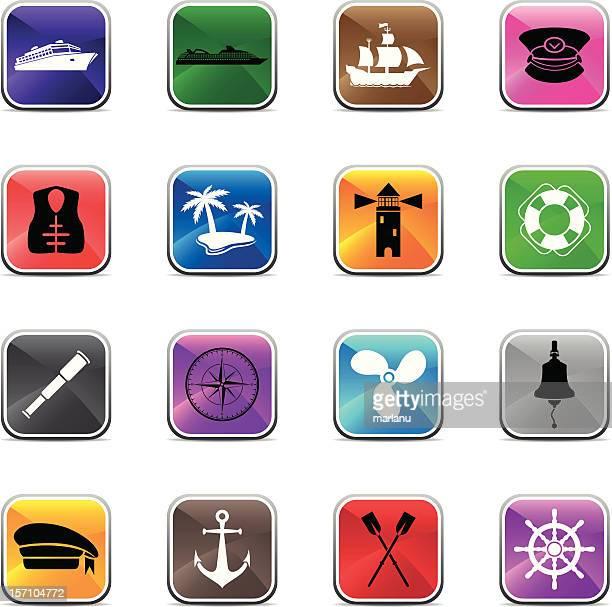Sailing Icons - Shiny Colors