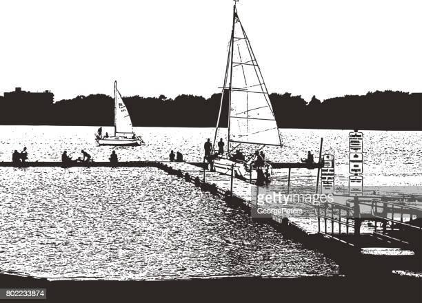 Sailing School, Minneapolis, Minnesota