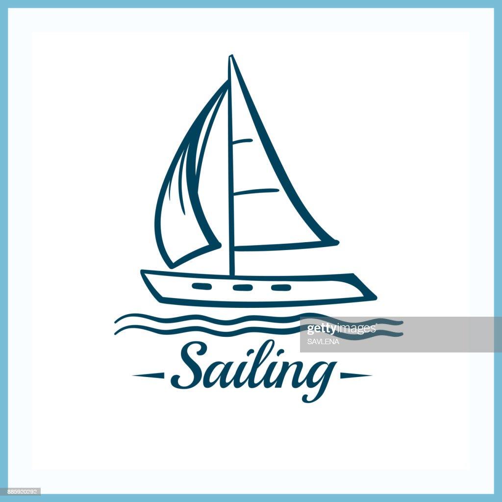Sailing_Badge_With_Sailboat