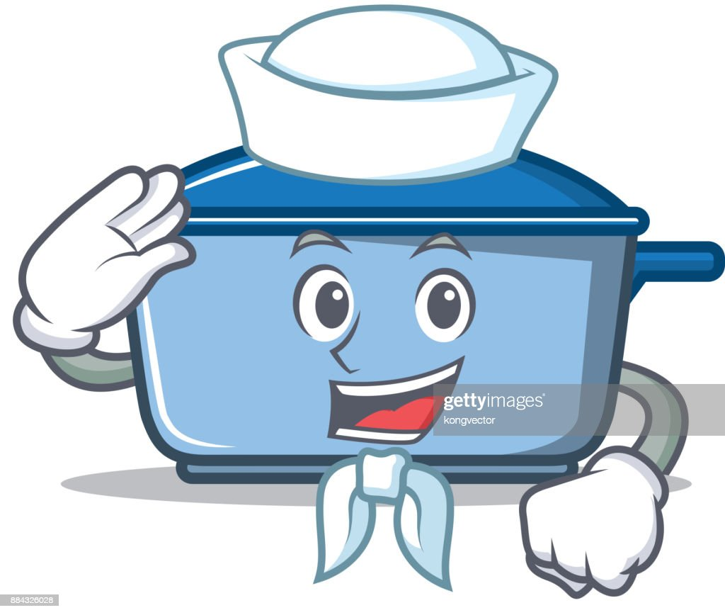 Sailor Kitchen Character Cartoon Style Vector Art | Getty Images