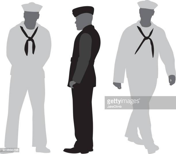 Sailor Silhouettes