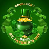 Saint Patricks Day Emblem Design