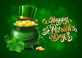 Saint Patricks Day Greeting Design