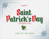 Saint Patrick's day, national day of Ireland