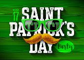 Saint Patrick's Day party flyer design