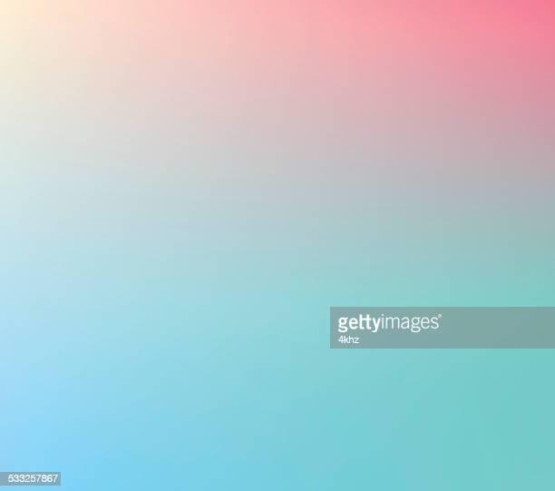 桜 Defocus マルチカラーのグラデーションのストックベクトルの背景