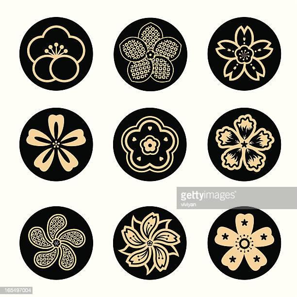 sakura flower set