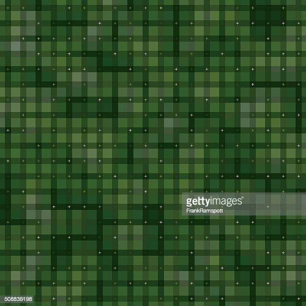 Salat, rechteckige Farbe Formen Muster
