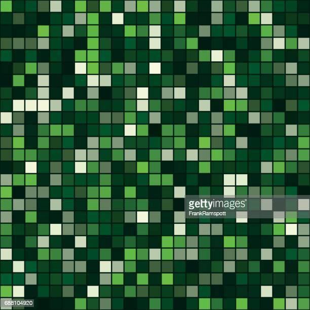 salat-square art vektormuster - frankramspott stock-grafiken, -clipart, -cartoons und -symbole