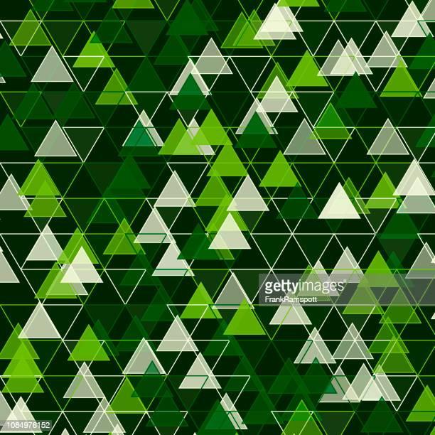 Salat-Dreieck-Vektor-Design-Pattern