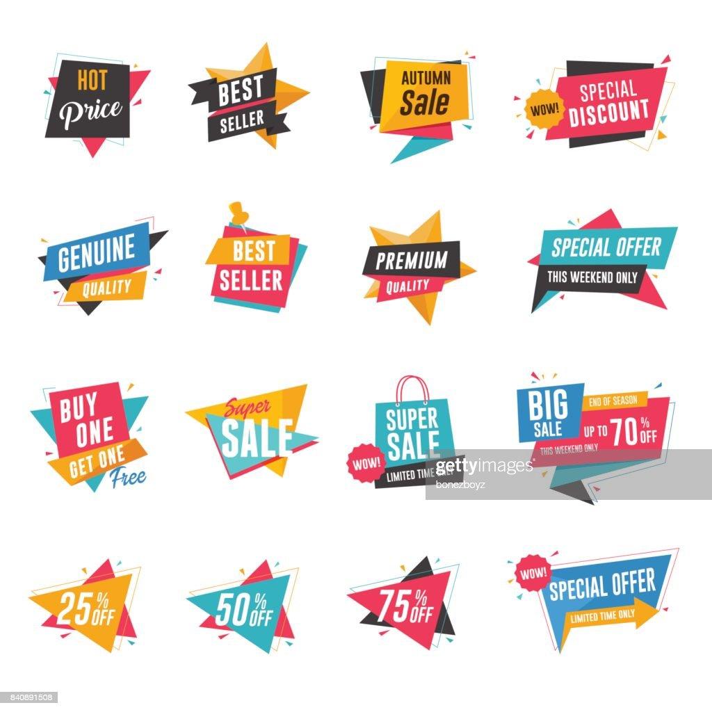 Sale & Discount Banner Set