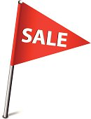 Sale Flag Icon