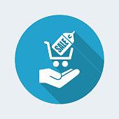Sale label - Single minimal icon