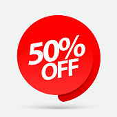 Sale of special offers. Discount with the price is 50 .