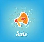 Sale. Poster coming soon. Loudspeaker