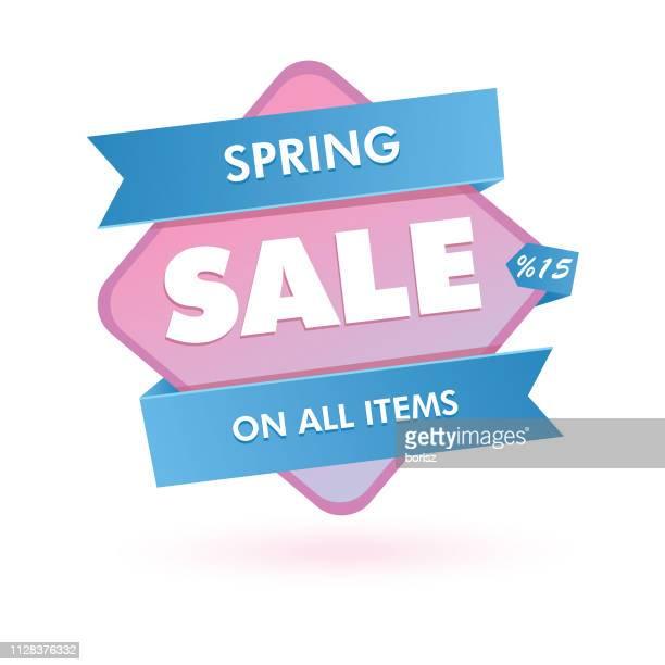 sale sticker - labeling stock illustrations, clip art, cartoons, & icons
