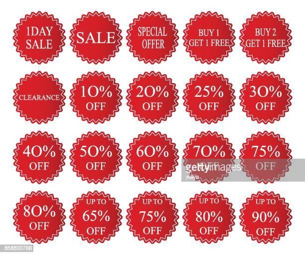Sale Tag Circle