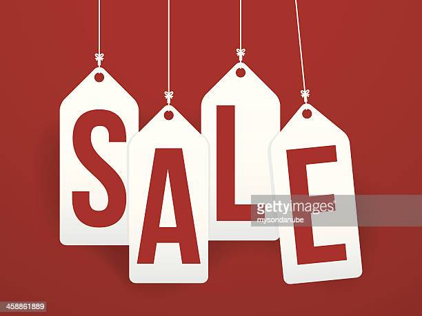 sale tags background - price tag stock illustrations, clip art, cartoons, & icons