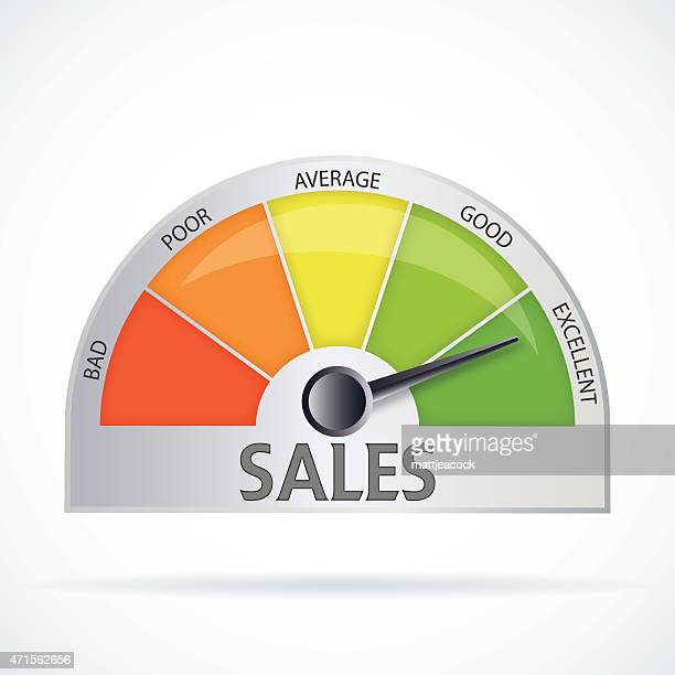 sales chart - sales occupation stock illustrations