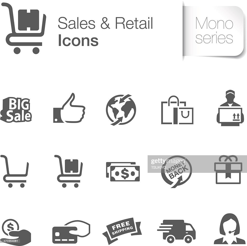 Sales & Retail Related Icons
