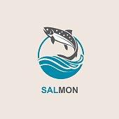 salmon fish icon