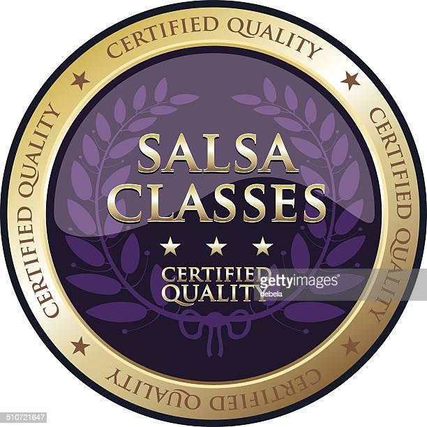 salsa classes - salsa dancing stock illustrations, clip art, cartoons, & icons